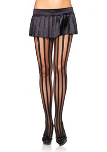 Vertical Stripe Pantyhose - PlaythingsMiami