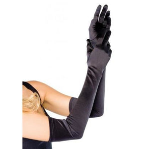 Extra Long Satin Gloves - PlaythingsMiami