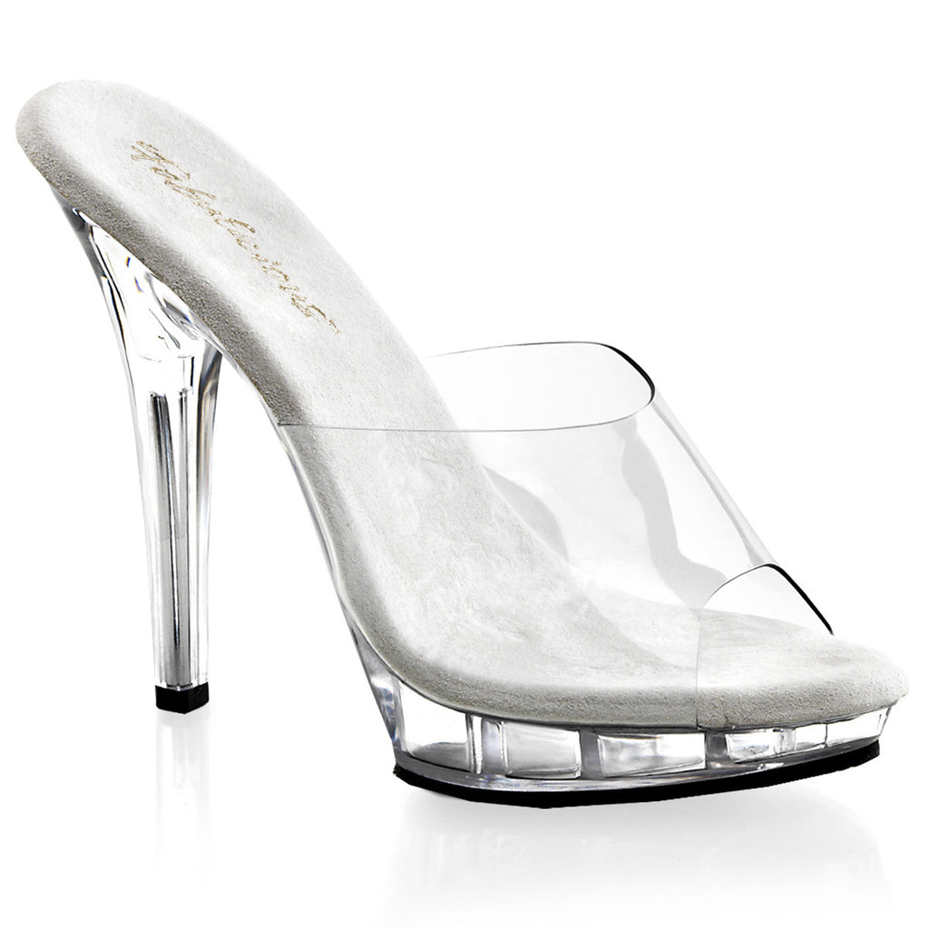 Platform Clear Heels│Sexy - PlaythingsMiami