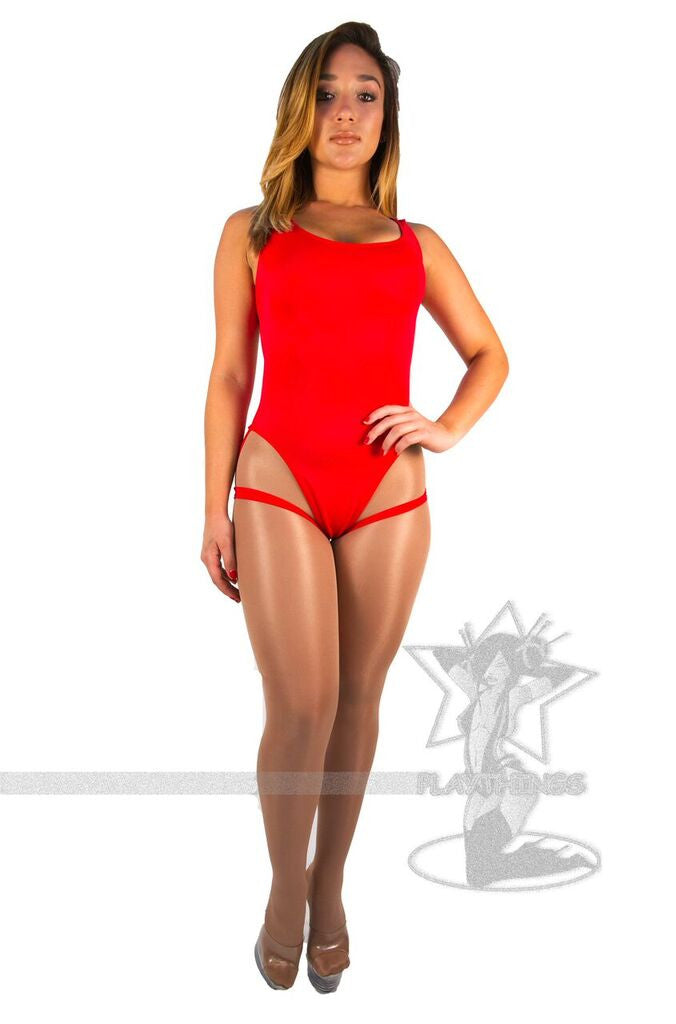 Romper with Garter Straps - PlaythingsMiami