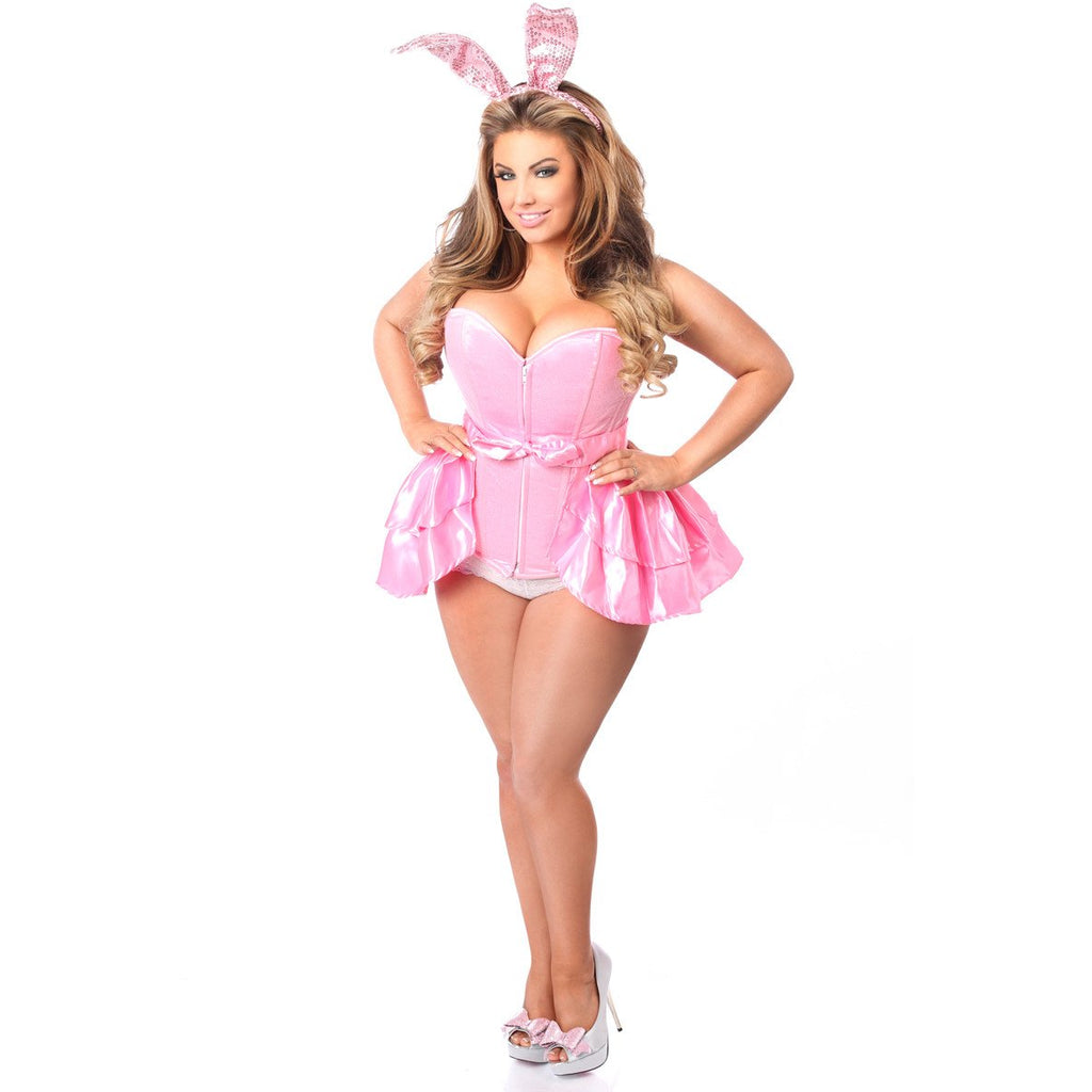 Bunny Playful Pink Costume