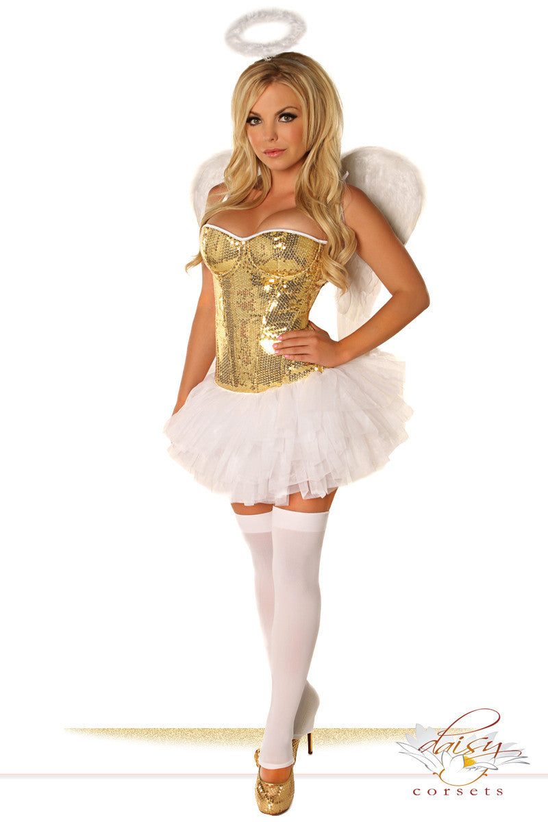 Sequin Gold Angel - PlaythingsMiami