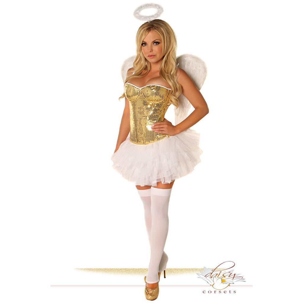 Gold Sequin Angel - PlaythingsMiami