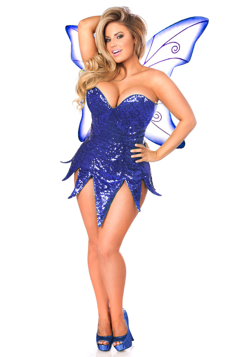 Sequin Fairy Dress Costume-3 Colors - PlaythingsMiami