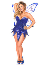 Sequin Fairy Dress Costume-3 Colors