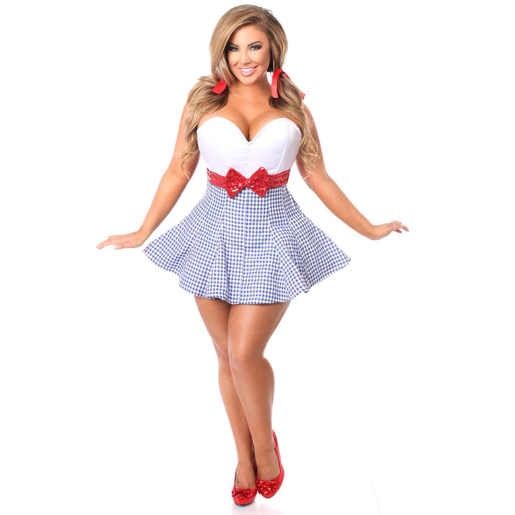 Kansas Girl Corset Dress - PlaythingsMiami