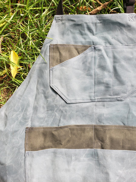 Hand Waxed Canvas Apron