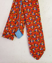 Load image into Gallery viewer, Red Vintage Floral Necktie - Sally Forth Supply Co.