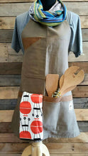 Load image into Gallery viewer, Waxed Canvas Apron - Sally Forth Supply Co.