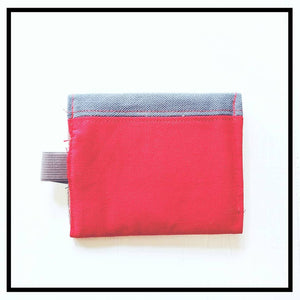The Original Chapstick Wallet! The Avail: Color Block Red - Sally Forth Supply Co.