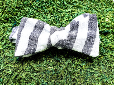 Stripey Bowtie - Sally Forth Supply Co.