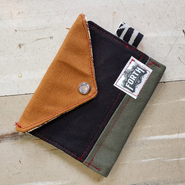 The Original Chapstick Wallet! The Avail: Brown colorblock - Sally Forth Supply Co.
