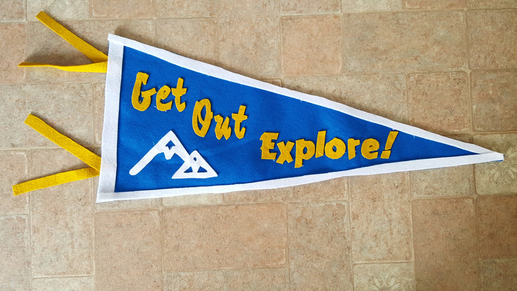 large Pennants - Sally Forth Supply Co.