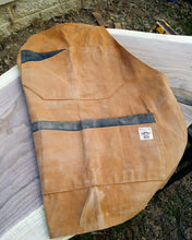 Load image into Gallery viewer, Custom Hand Waxed Canvas Apron - Sally Forth Supply Co.
