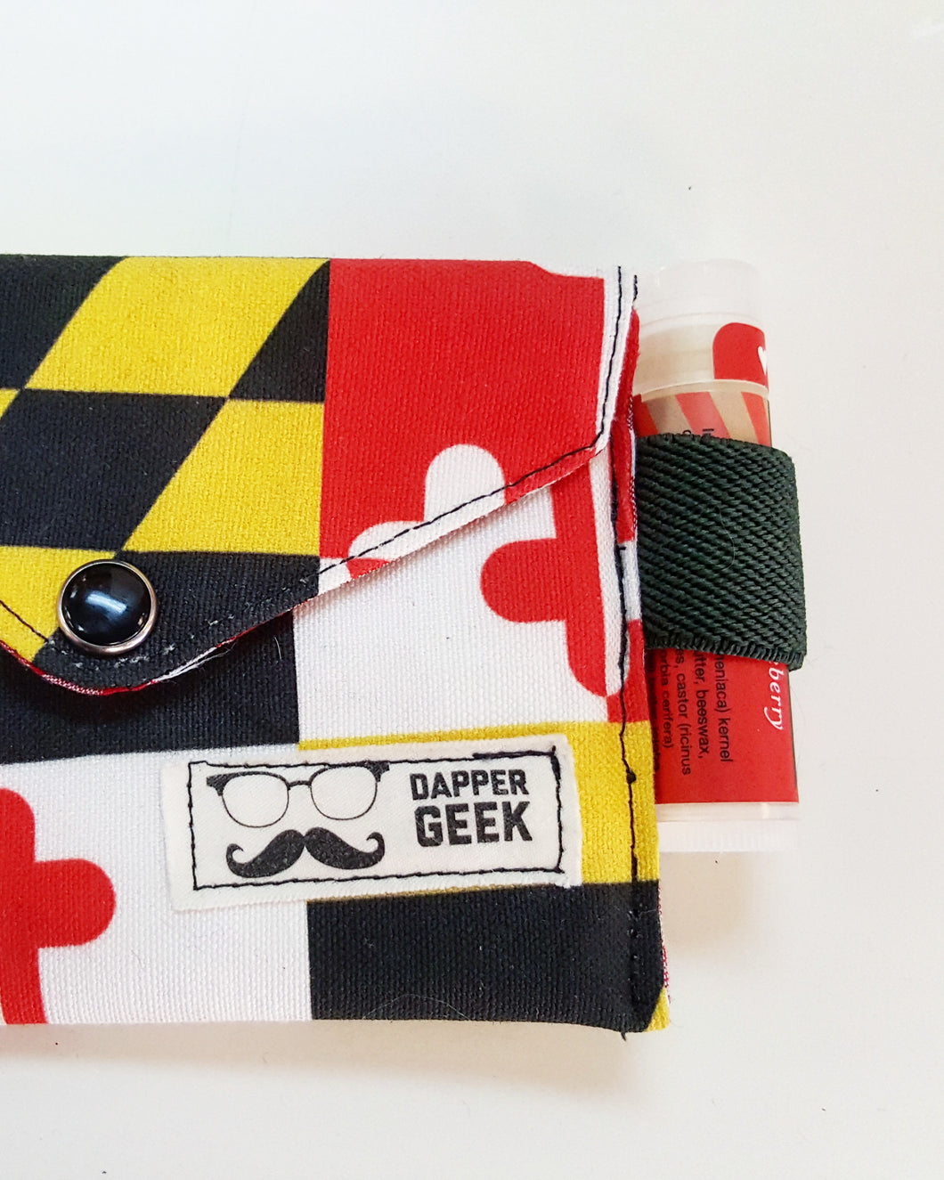 The Original Chap Stick Wallet! The Avail: MD Flag - Sally Forth Supply Co.
