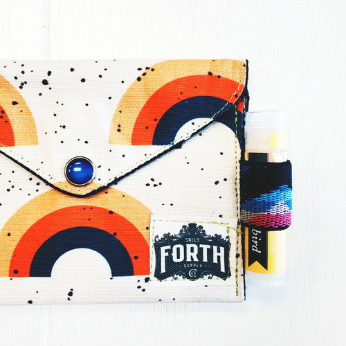 The Original Chap Stick Wallet! The Avail: Rainbow - Sally Forth Supply Co.