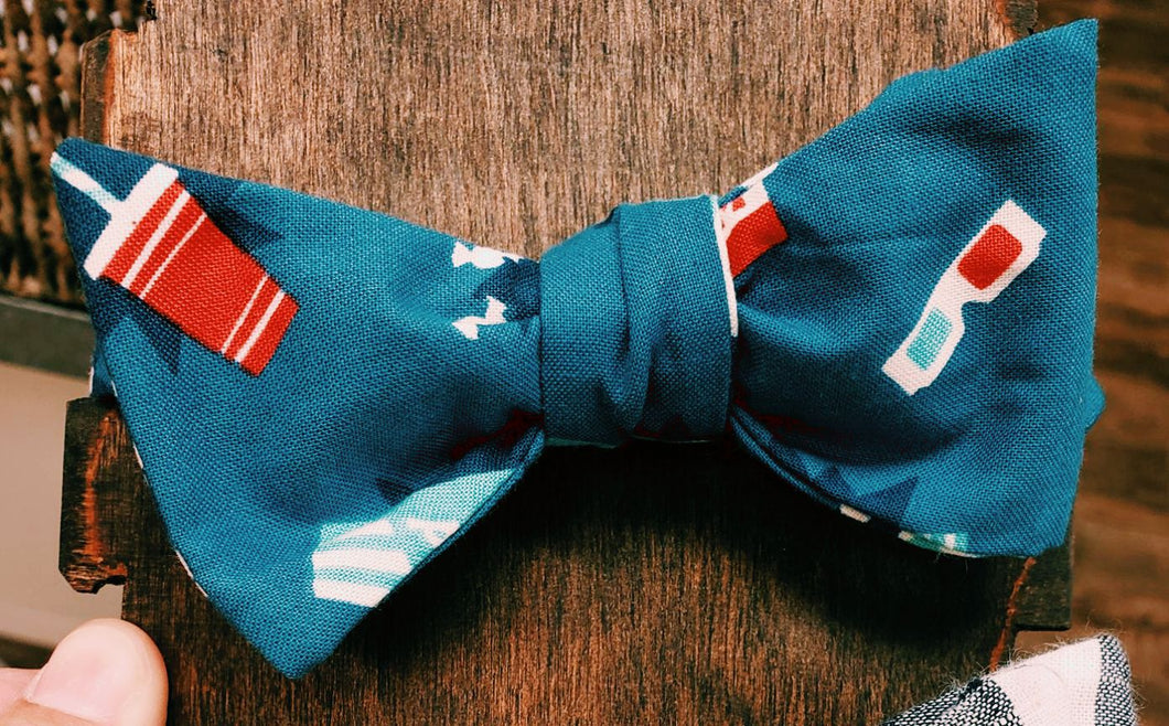 Movie time Bowtie - Sally Forth Supply Co.