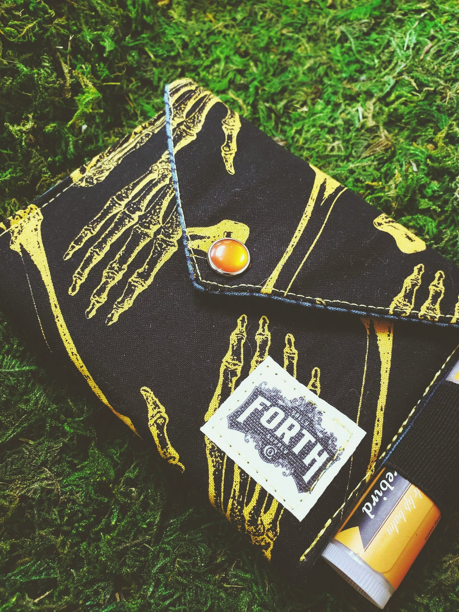 The Original Chap Stick Wallet! The Avail: Dem Bones - Sally Forth Supply Co.
