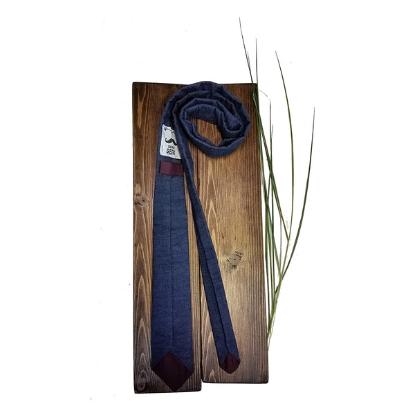 DENIM Necktie - Sally Forth Supply Co.