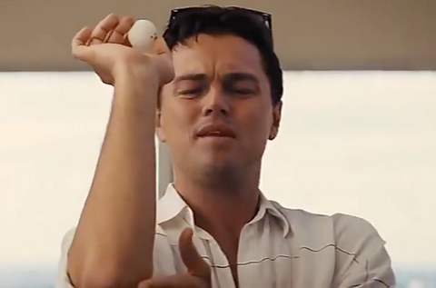Wolf of Wall Street Beer Pong
