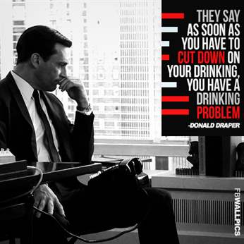 Don Draper Mad Men Alcoholism