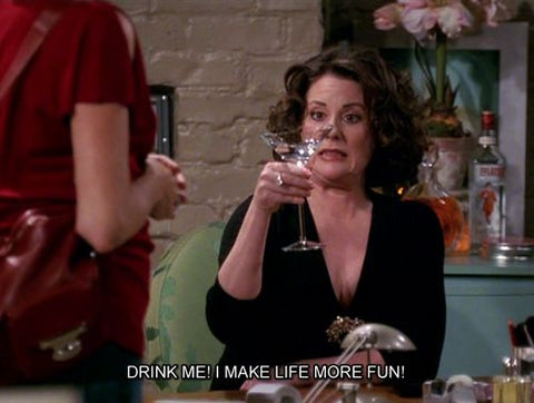 Will and Grace Karen Alcohol