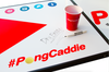 PongCaddie Deluxe Set With Dry Erase Beer Pong Table