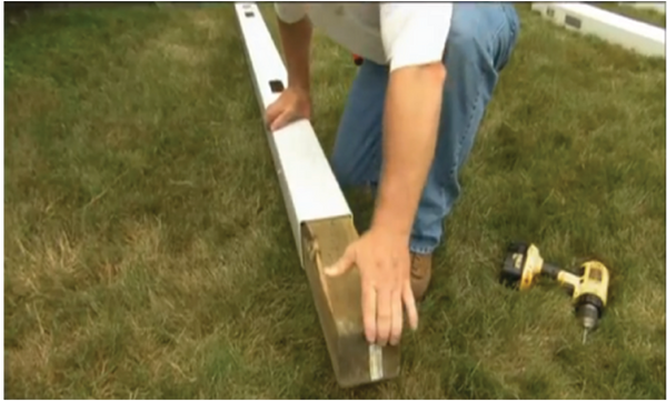 How to Install or Repair a Vinyl Fence Post – Fence Daddy