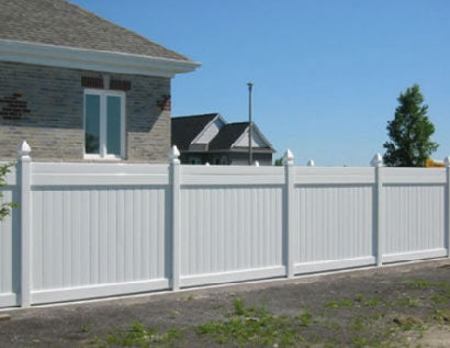 Private Vinyl Fence Panels are a popular option