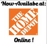 Now available at the home depot online