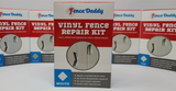 Vinyl Fence Repair Kit (White) by Fence Daddy