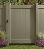 Fence Daddy Clay Vinyl Fence image