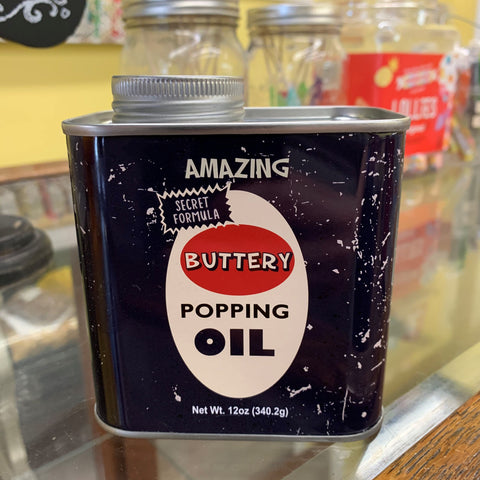 Popping Oil Vintage Can