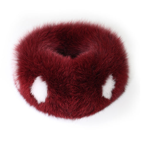 Fox fur Neck Warmer