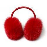 Red Fox Fur Earmuffs