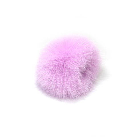 Burgundy Fox Fur Earmuffs