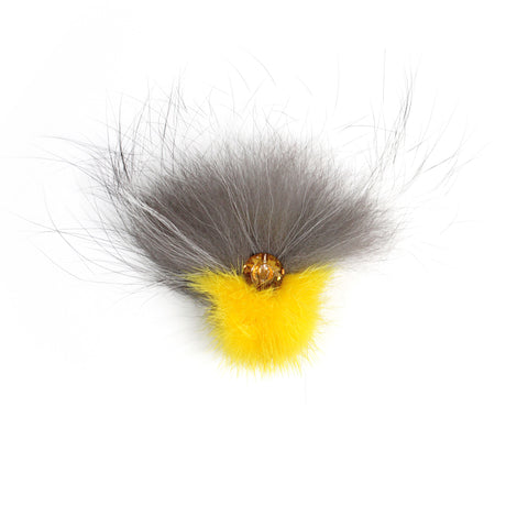 Yellow Mink & Fox cocktail ring