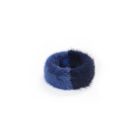Blue Mink & Fox cocktail ring