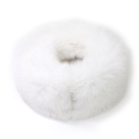 Pale Mint Fox Fur Neck Warmer