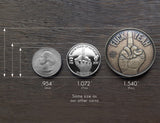 Bronze Desicion Maker Coin Size Compare