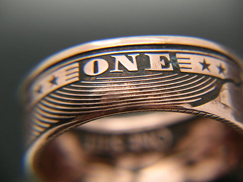 Give A Quot Shit Quot Coin Ring Zfg Inc Zero Fucks Coin