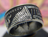 *NEW* Eagle Zero Fucks Coin Ring