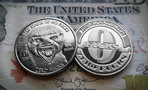 """The Honey Badger"" Single Coin"
