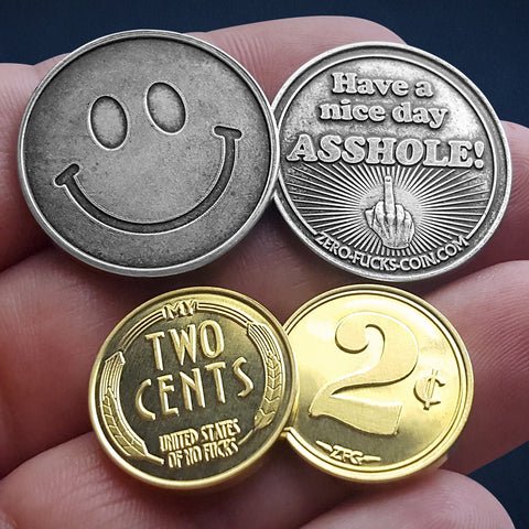 Give Your Two Cents With Actual 2 Cents Coins