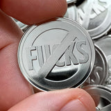 No Fuck Coin - Zero Fucks coin
