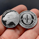 zero fucks honey badger coin, give zero fucks, 0 fuck, HB coins