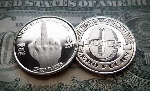 """The Finger"" Single Coin"