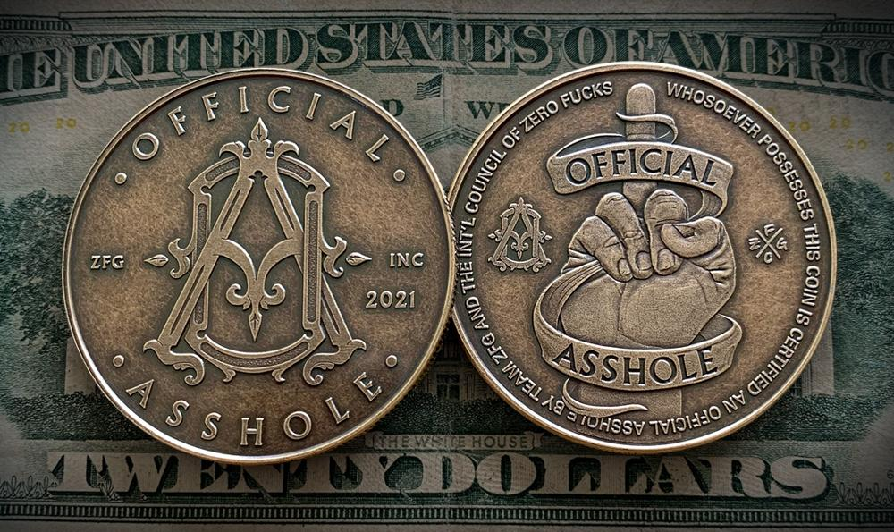 Zero Fucks Given Coins – ZFG Inc  - Zero Fucks Coin