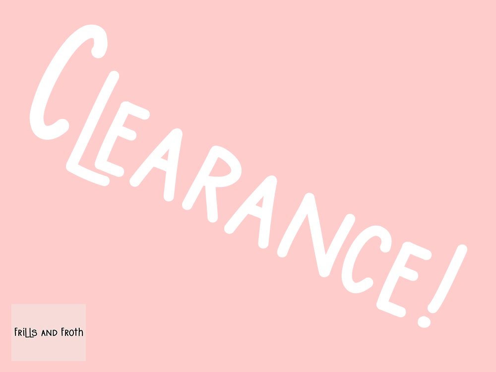 Clearance! Discounted and end of lane fabrics.