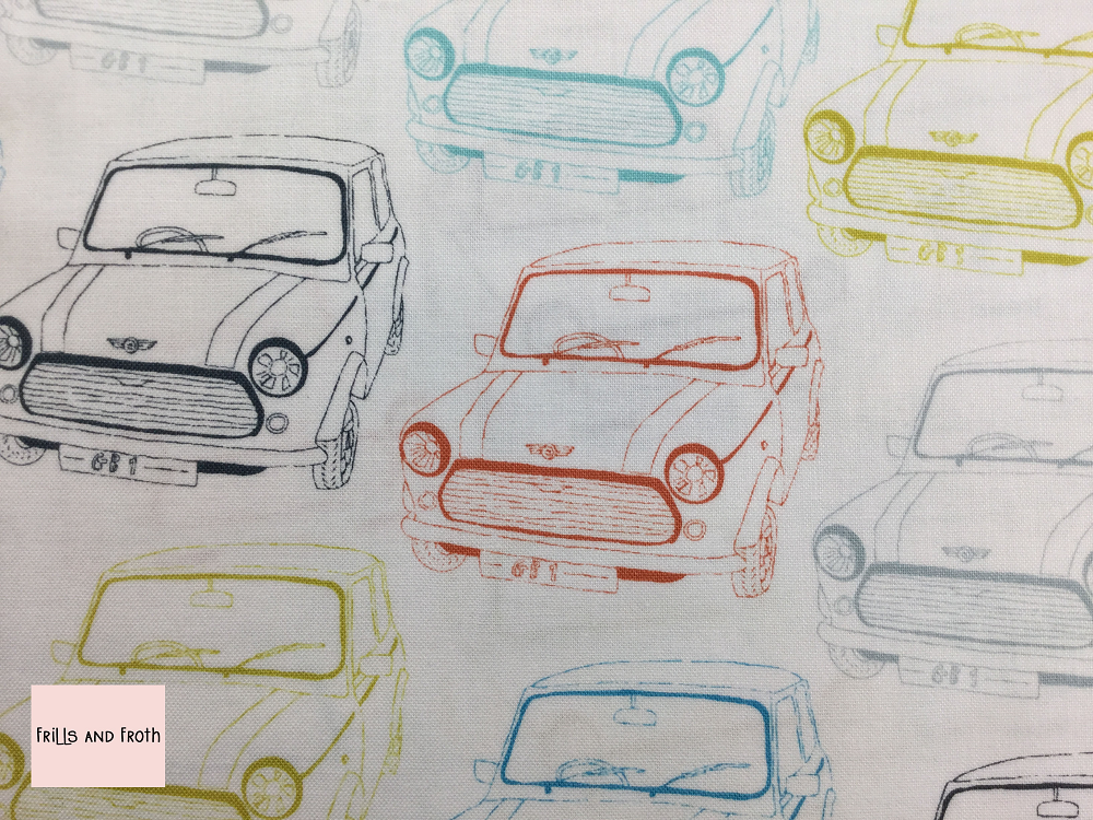 Dashwood Studio 'Vroom' quilting fabric